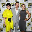 Ginnifer Goodwin, Josh Dallas et Jennifer Morrison lors du Comic-Con le 23 juillet 2011 à San Diego aux Etats-Unis