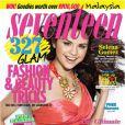 Selena Gomez était d'ordinaire plus habituée aux couvertures de magazines pour ados.  Seventeen , décembre 2010.