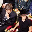 Le 27 juillet 2011, le prince Frederik et la princesse Mary de Danemark se recueillaient en la cathédrale de Copenhague, en signe de compassion avec leurs 'frères' norvégiens, meurtris par un double attentat sanglant (76 morts) le 22 juillet.