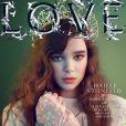 Hailee Steinfeld en couverture de Love Magazine