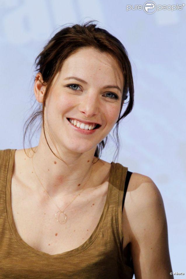 Elodie Varlet, de la série Plus Belle La Vie, en février 2011.