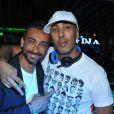DJ Abdel au Palais Club à Cannes le 2 août 2011