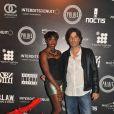 Estelle au Palais Club à Cannes le 30 juillet 2011 avec Richard Orlinski