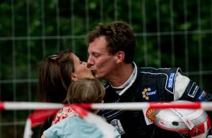 La princesse Marie et le petit prince Henrik, premiers fans du prince Joachim