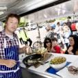Jamie Oliver à Richmond au Royaume-Uni, le 16 juin 2011.
