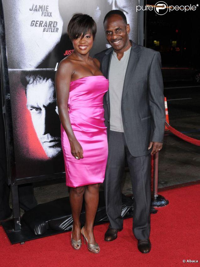 Viola Davis et son mari Julius Tennon en octobre 2009