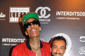 Wiz Khalifa surchauffe le Palais de Cannes, sa chérie Amber Rose n'en dort pas