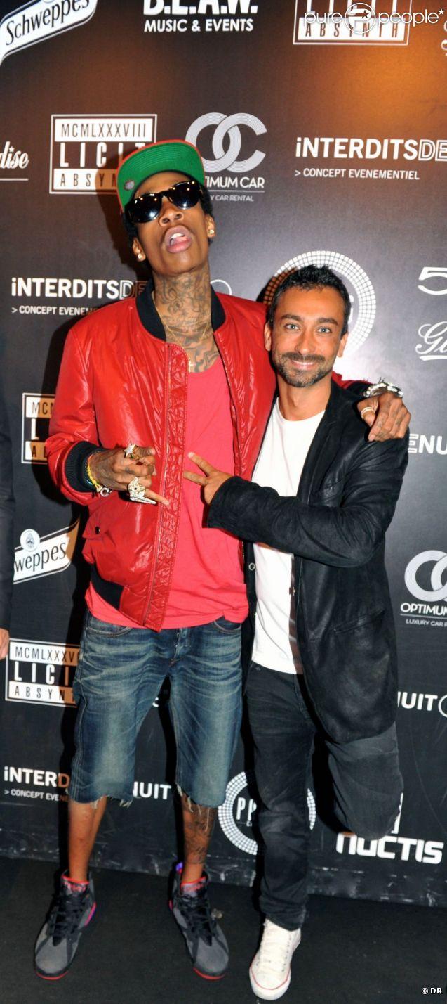 Wiz Khalifa au Palais Club à Cannes le 10 août 2011