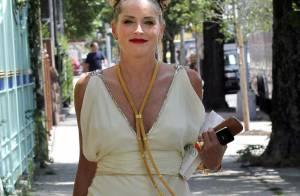 Sharon Stone inquiète : Un fou prétend lui avoir fait un enfant et tué Ben Laden