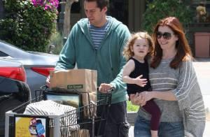Alyson Hannigan : Avec son mari et leur fille de 2 ans, le bonheur total
