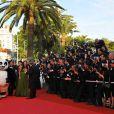 Arrivée des stars de Kung-Fu Panda pour la projection de leur film, Angelina Jolie en tête