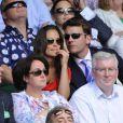 Pippa Middleton et son boyfriend Alex Loudon à Wimbledon en juin 2011.