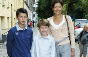 Les jeunes princes Nikolai et Felix font leur rentrée : avec maman, cette année