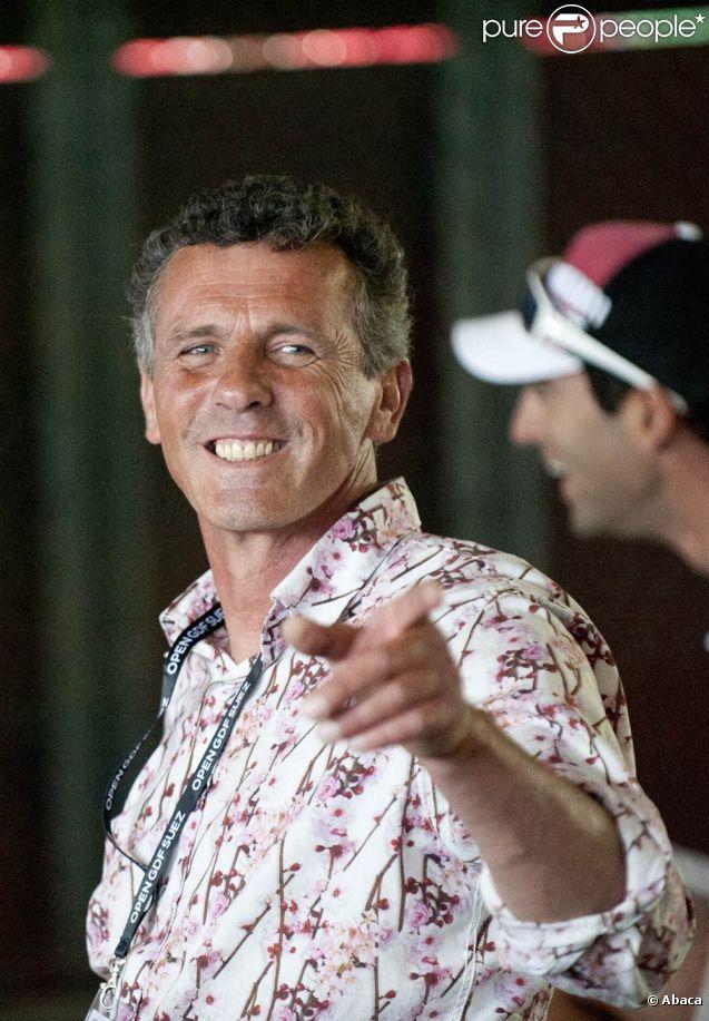 Pierre Quinon en mai 2011 à Cagnes-sur-mer lors de l'Open GDF Suez de tennis.   L'ancien perchiste, champion olympique en 1984, s'est suicidé le 17 août 2011 à l'âge de 49 ans.