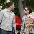 Jennifer Garner et son époux Ben Affleck en août 2010.