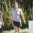 Jennifer Elia, fiancée de Chaz Bono, à West Hollywood le 22 août