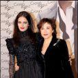 Mère et fille : Eva Green et Marlène Jobert en 2009 à Paris