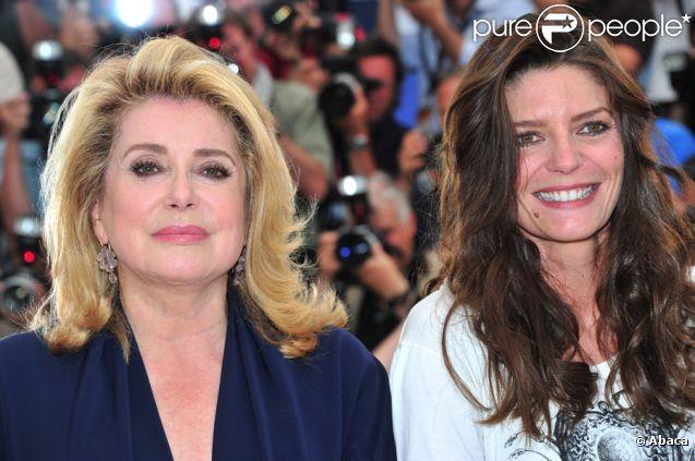 Mère et fille : Catherine Deneuve et Chiara Mastroianni au festival de Cannes 2011