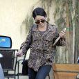 Vanessa Hudgens se promène, mercredi 24 août 2011 à Los Angeles.