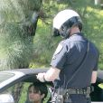 Vanessa Hudgens est arrêtée par la police et écope d'une amende, mercredi 24 août 2011 à Los Angeles.