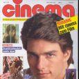 L'acteur Tom Cruise en couverture du magazine hongrois Cinema. 1989.