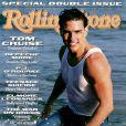 T-shirt mouillé et muscles saillants, Tom Cruise pose pour Rolling Stone en juillet 1990.
