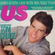 Le jeune Tom Cruise, en couverture de US Weekly. 8 août 1988.