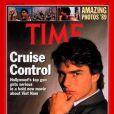 L'acteur Tom Cruise en couverture du magazine Time. Décembre 1989.