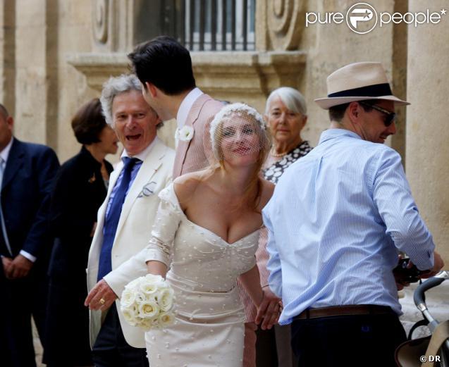 Mark Ronson et Joséphine de la Baume, leur mariage à Aix-en-Provence le 2 septembre 2011