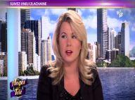 Les Anges de la télé : Cindy Lopes nie être enceinte... mais devient sexologue