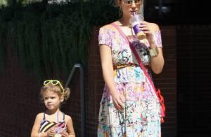Jessica Alba, lookée et aminicie : la maman star est un exemple pour Honor