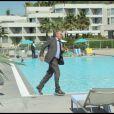 Yves Rénier en pleine action dans le tournage du prime time de PBLV, diffusé le 20 septembre sur France 3.