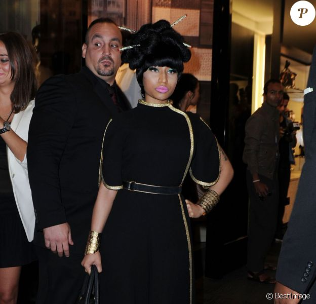 Nicki Minaj à la Vogue Fashion Night de New York le 8 septembre 2011