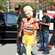 """Nicki Minaj au défilé de la collection printemps-été 2012 de Carlina Herrera à New York le 12 septembre 2011"""