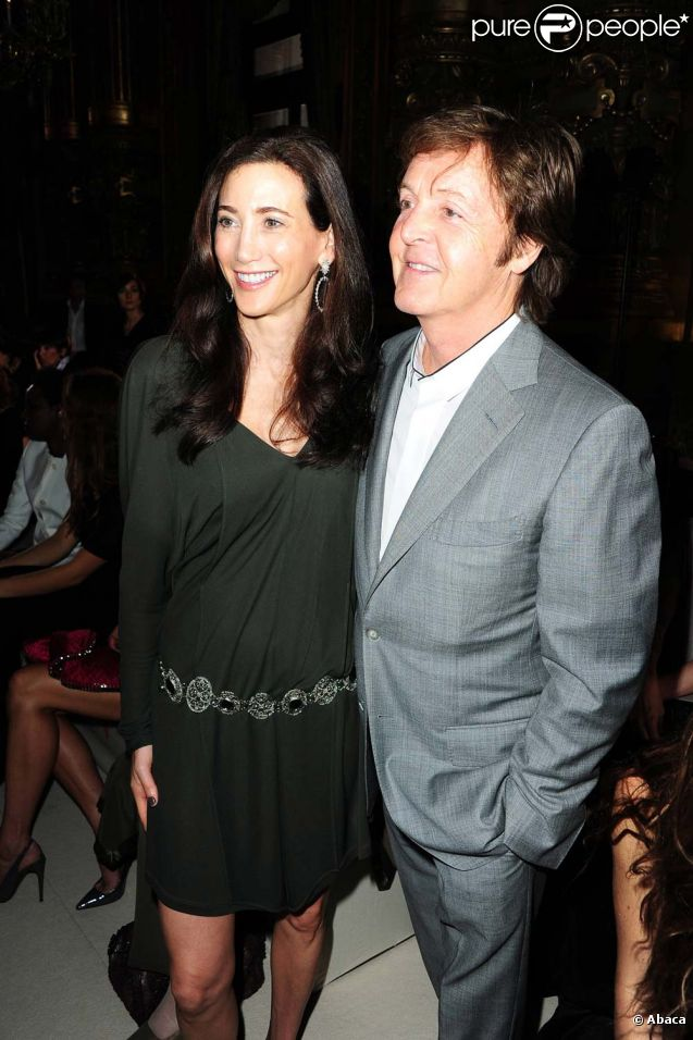 paul mccartney et nancy shevell le mariage est pour tr s bient t. Black Bedroom Furniture Sets. Home Design Ideas
