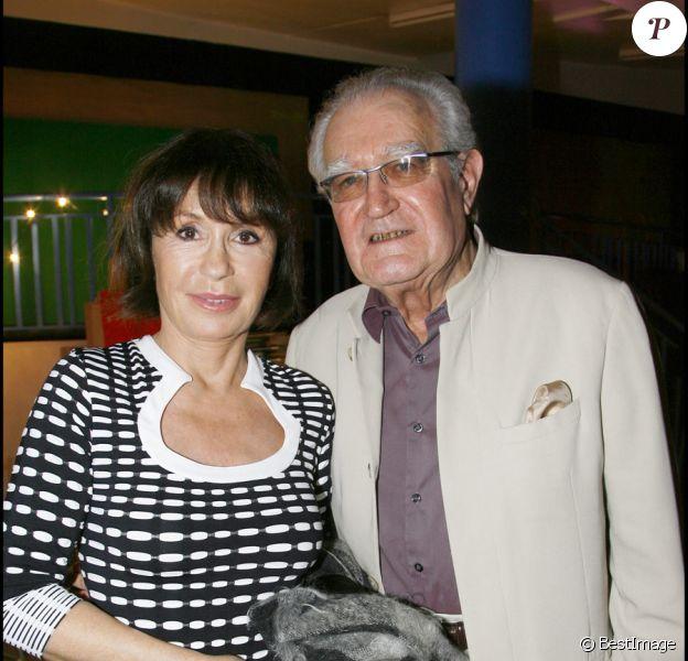 Georges Fillioud et Danièle Evenou en novembre 2007