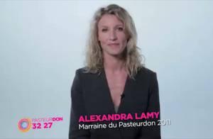 Alexandra Lamy : Très touchante, elle appelle aux dons pour faire le bien
