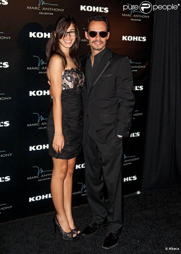 Marc Anthony a fêté son quarante-troisième anniversaire avec sa fille Ariana le 16 septembre à Miaimi