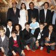 Les enfants-stars du long métrage lors de l'avant-première de La Nouvelle Guerre des boutons le 18 septembre 2011 à Paris