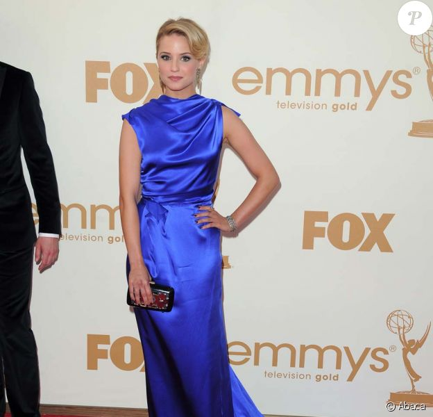 Dianna Agron au 63e Emmy Awards, à Los Angeles, le 18 septembre 2011.