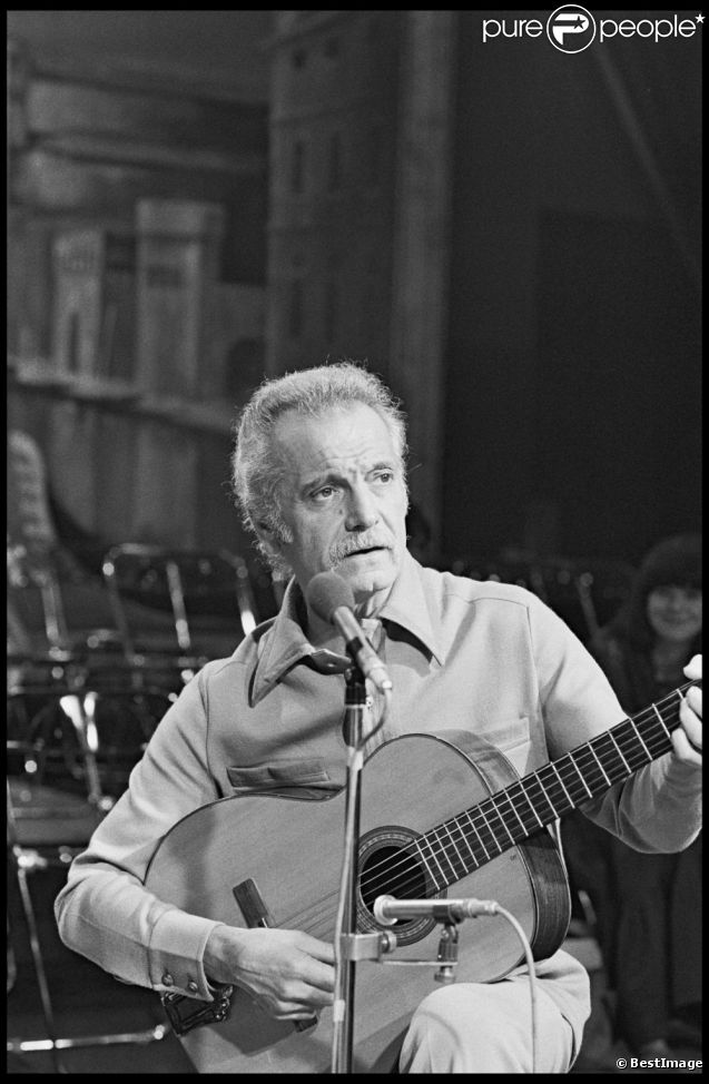 Georges Brassens en 1979