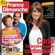 Couverture de France-Dimanche, en kiosques le 23 septembre.