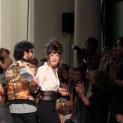 Charlotte Le Bon : animatrice trash et glam pour un Gaultier au sommet