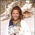 Melissa Theuriau en janvier 2007 au festival du film de l'Alpe d'Huez pendant lequel elle rencontrera Jamel : Coup de foudre !