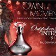 Le deuxième parfum de la chanteuse Fergie, Outspoken Intense, est sorti en juillet.
