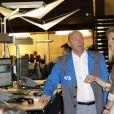 Maxima des Pays-Bas à la Bourse d'Amsterdam lundi 3 octobre pour inaugurer une nouvelle section. La princesse a pour l'occasion choisi une tenue... argentée.
