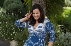 Fran Drescher : Délirante et rayonnante au côté de Kiefer Sutherland à Cannes