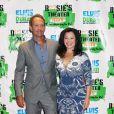 Fran Drescher et son ex-mari Peter Marc Jacobson, le 19 septembre 2011 à New York