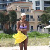 Kelly Rowland : Infiniment sexy et heureuse sur la plage