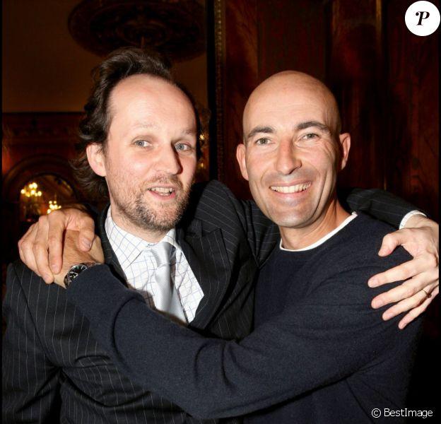 Jean-Marc Dumontet et Nicolas Canteloup en 2007.